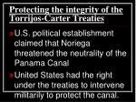 protecting the integrity of the torrijos carter treaties