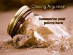 closing argument