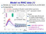 model vs rhic data 1