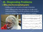 m diagnosing problems