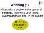 webbing 1