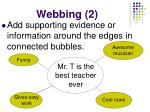 webbing 2