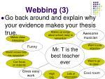 webbing 3