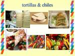 tortillas chiles