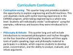 curriculum continued1
