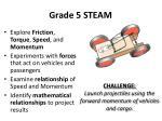 grade 5 steam