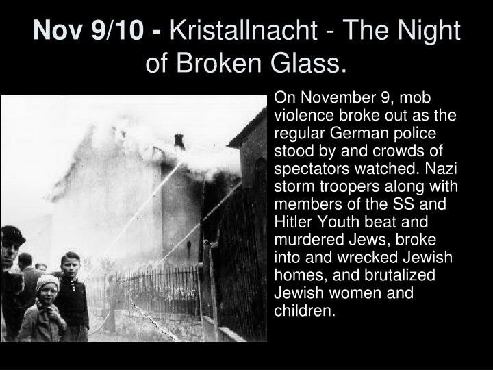 the night of broken glass Benno and the night of broken glass has 290 ratings and 73 reviews rachel said: although some things aren't pleasant, they cannot be forgotten i wouldn.