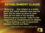 establishment clause1