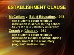 establishment clause3