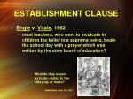 establishment clause4