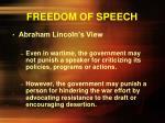 freedom of speech4