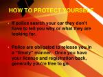 how to protect yourself1