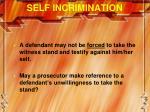self incrimination2