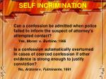 self incrimination3