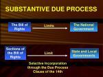 substantive due process1
