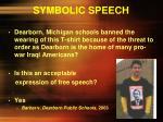 symbolic speech5