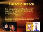 symbolic speech8