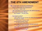 the 8th amendment1