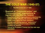 the cold war 1945 57
