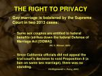the right to privacy3