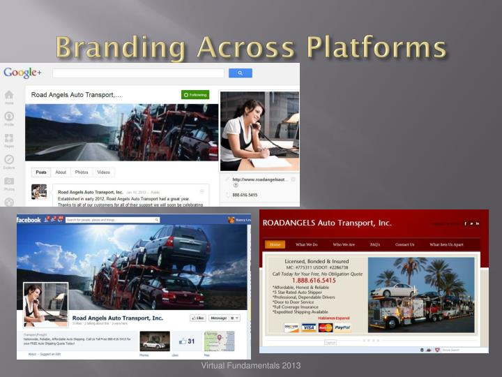 Branding Across Platforms