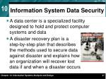information system data security1