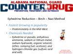 ephedrine reduction birch nazi method