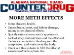 more meth effects