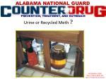 urine or recycled meth