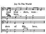joy to the world15
