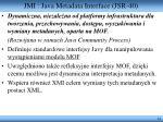 jmi java metadata interface jsr 40