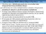 specyfikacja mof meta object facility 1