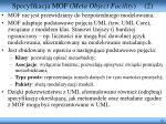 specyfikacja mof meta object facility 2