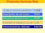 protocolos servicios web