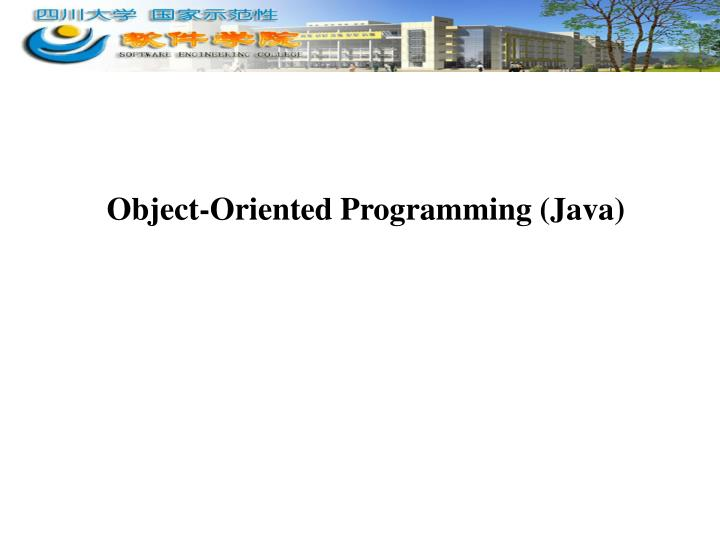 object oriented programming java n.