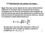 2 5 distribuci n de campo a lo largo5