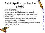 joint application design jad1