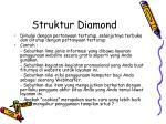 struktur diamond