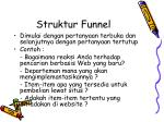 struktur funnel