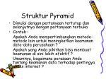 struktur pyramid