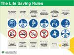 the life saving rules