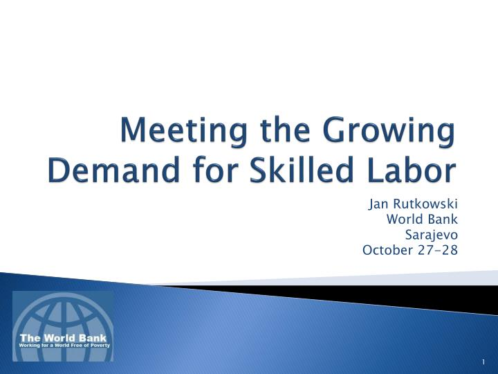 meeting the growing demand for skilled labor n.