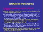 determinante spojne politike4