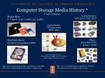 computer storage media history not complete1