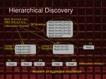 hierarchical discovery