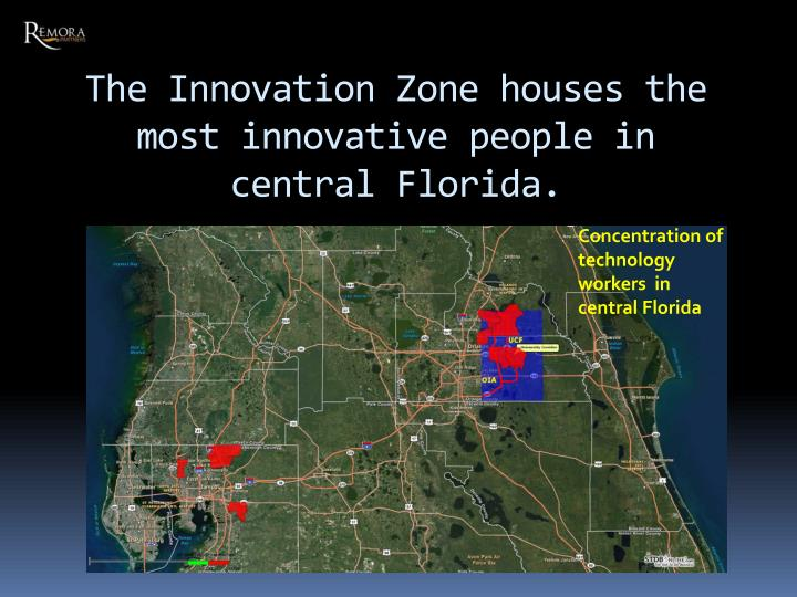 The Innovation Zone houses the most innovative people in central Florida.