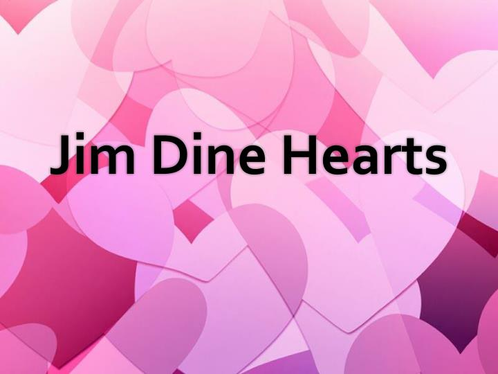 ppt - jim dine hearts powerpoint presentation