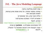 jml the java modeling language