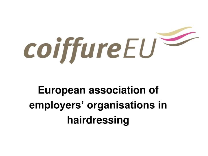 european association of employers organisations in hairdressing n.