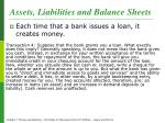 assets liabilities and balance sheets2